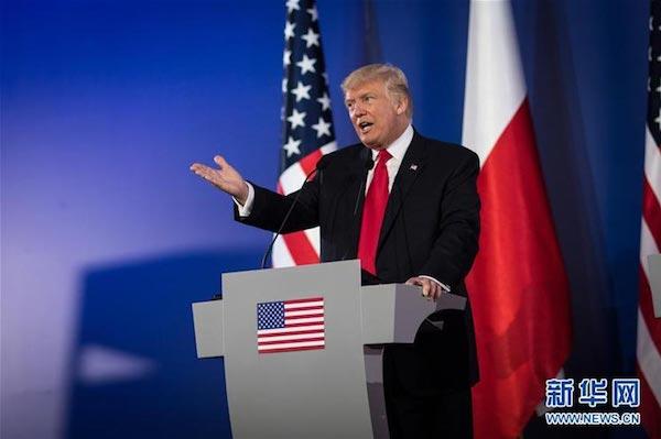 波蘭與美國關係日益加深將影響美俄關係。 圖片來源:新華網