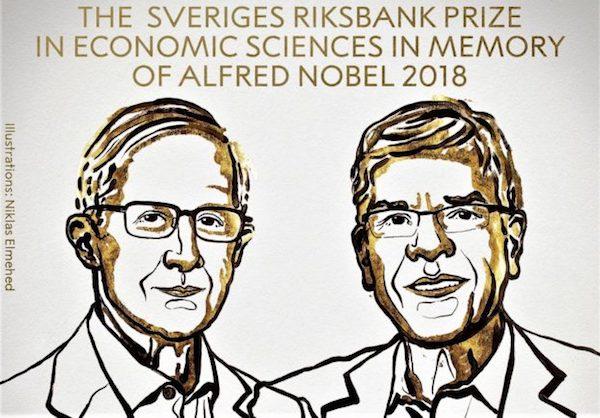 今年諾貝爾經濟學獎已經揭曉。 圖片來源:科技新報