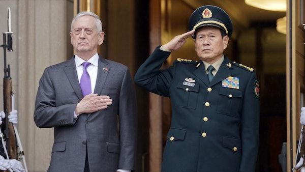 中國國防部長魏鳳和。 圖片來源:HK01