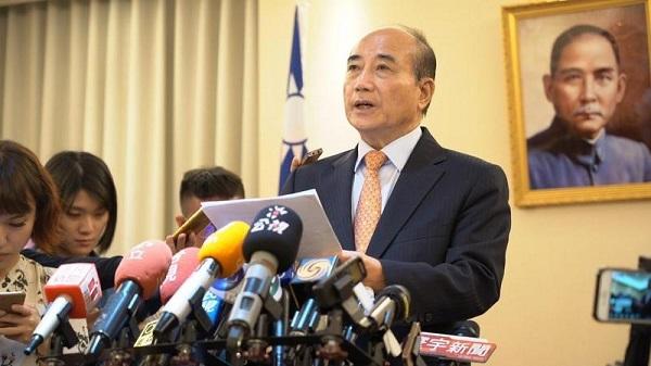 王金平不參加初選的原因是? 圖片來源:王金平立委辦公室