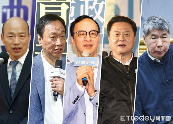 國民黨總統大選初選政見發表。 圖片來源:東森新聞