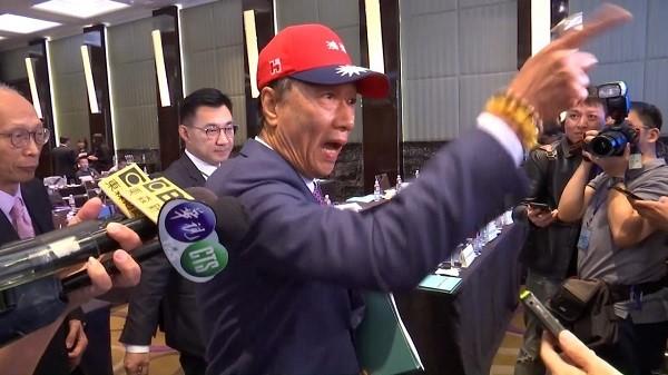 郭台銘在印太安全對話對蕭美琴怒罵。 圖片來源:聯合新聞網