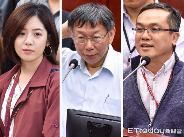 學姐黃瀞瑩驚爆被性騷擾,柯文哲冷處理。 圖片來源:東森新聞