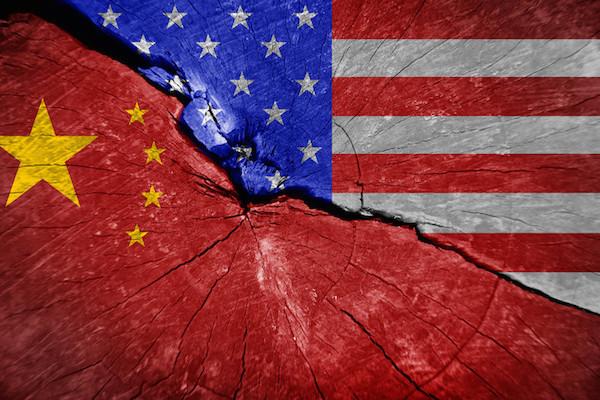 美中兩大強權將使世界一分為二。 圖片來源:灼見名家