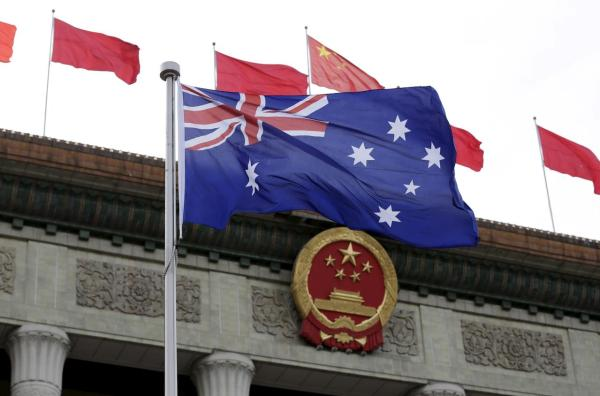 Australia recognizes the threats from China. Image source: Reuters