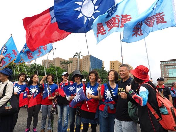 國民黨在台灣已經失去中心思想。 圖片來源:民報
