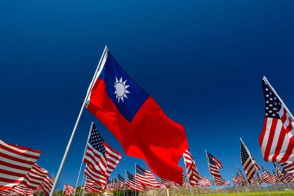 美國對台灣的支持度持續增加。 圖片來源:UDN