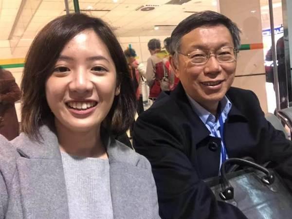 學姐黃瀞瑩內定回鍋北市府。 圖片來源:中時電子報