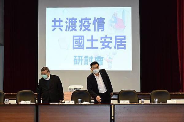 國民黨黨主席邀集15縣市首長研討疫情,卻無一出席。 圖片來源:NOWNews