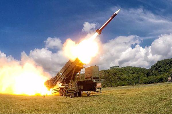 天弓三型防空反導彈飛彈已可量產。 圖片來源:大紀元
