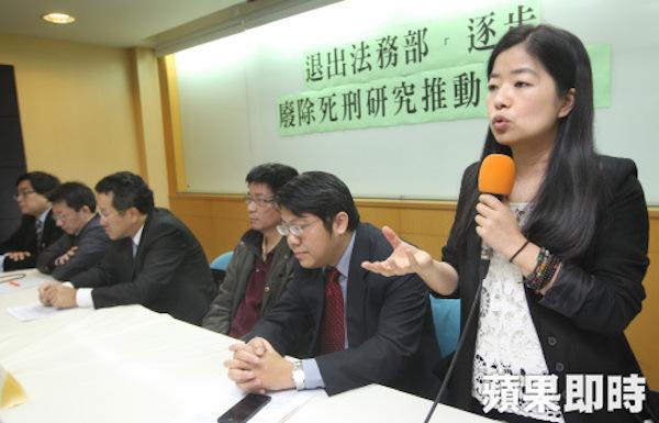 廢死與維護人權的觀念,在台灣仍未普及。 圖片來源:蘋果日報