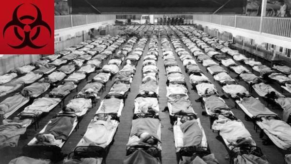西班牙流感導致5千萬人死亡。 圖片來源:知乎