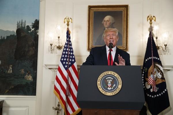 川普代表的是美國右派保守主義的復興。 圖片來源:華輿