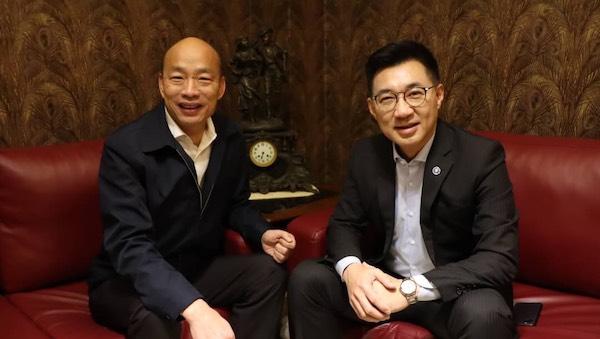 江啟臣帶領下的國民黨能擺脫國瑜黨? 圖片來源:新頭殼