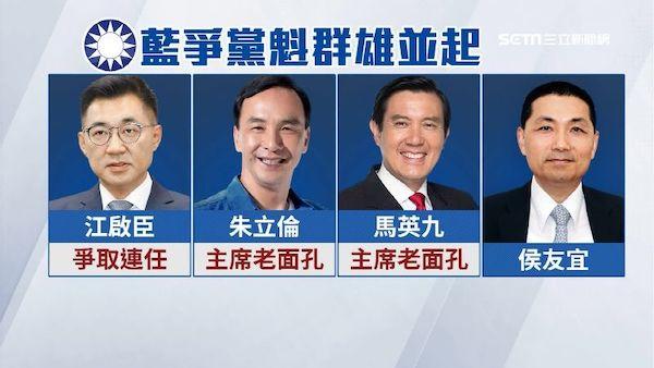 國民黨在連續敗選之後,還有誰能震聾發聵? 圖片來源:三立新聞
