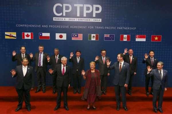 台灣應積極加入CPTPP。 圖片來源:風傳媒