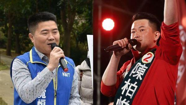 國民黨連勝文問「到底陳柏維、顏寬恆誰像黑道?」 圖片來源:三立新聞