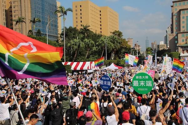 年輕世代有自己的選擇與堅持。 圖片來源:台灣應與新聞