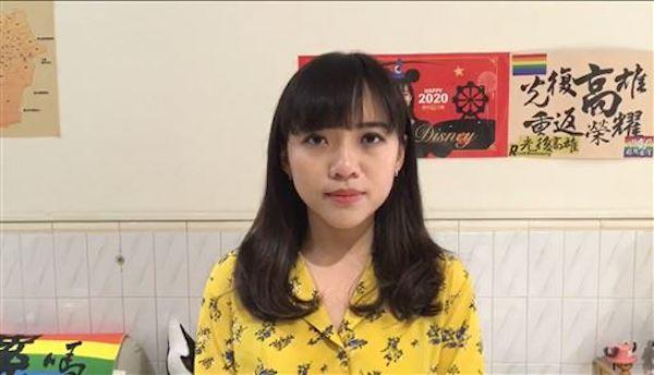 罷免黃捷連署可能通過,黃捷號召志工反罷免。 圖片來源:三立新聞
