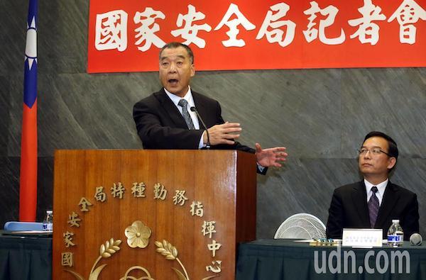 菸品案特勤人員透過高層要求回任,國安局長邱國正嚴正處置。 圖片來源:聯合新聞網