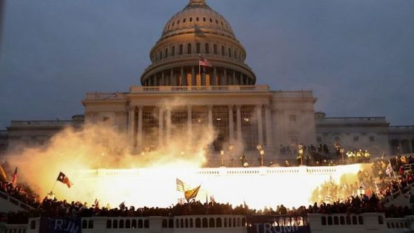 台灣需關注美國選舉衝突後續影響。 圖片來源:BBC