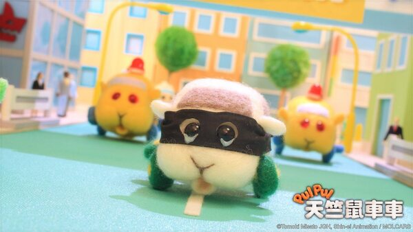 天竺鼠車車近來爆紅。 圖片來源:蘋果日報