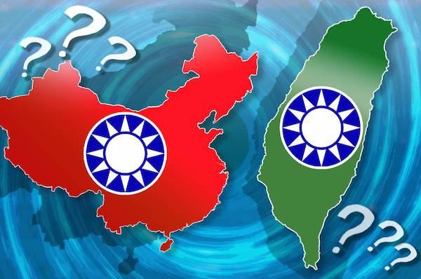 中國國民黨的中華民國在台灣。 圖片來源:放言