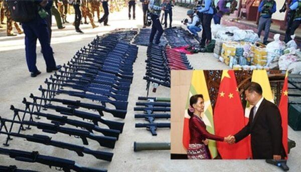 緬甸爆發軍事政變。 圖片來源:蘋果日報