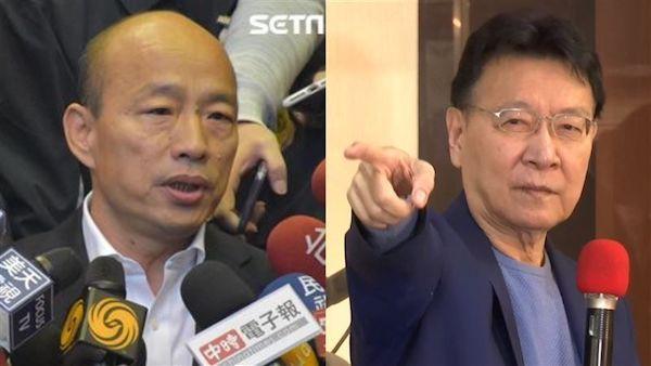 趙少康要韓國瑜再出來選高雄市長。 圖片來源:三立新聞