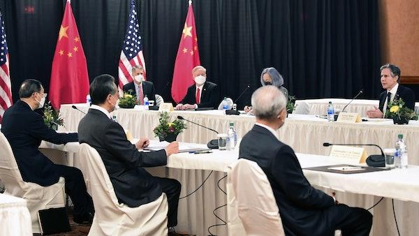 中美2+2高層會談於三月十九日結束。 圖片來源:HK01