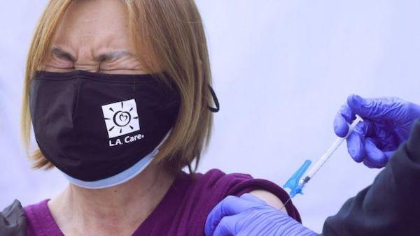 疫苗施打看個人選擇。 圖片來源:BBC