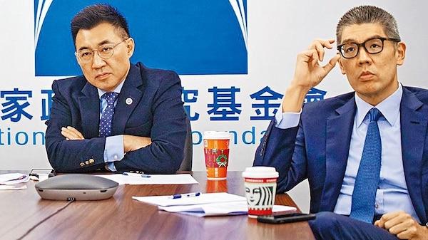 連勝文提出黨主席應專職。 圖片來源:蘋果日報