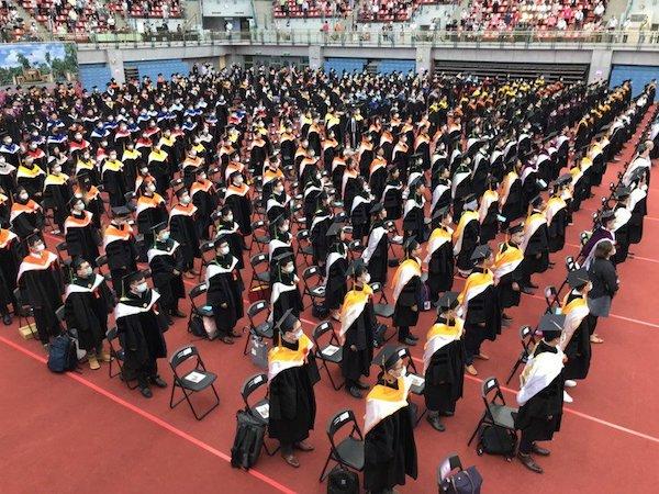 疫情下的大學生活變化太多。 圖片來源:聯合新聞網