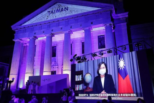 TaiwanPlus開播:一個將台灣推向國際舞台的新紀元誕生。 圖片來源:作者提供