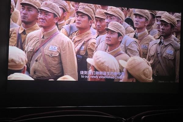 電影長津湖劇照。 圖片來源:Nifty