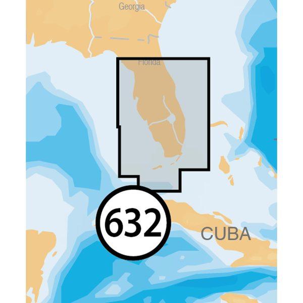 NAVIONICS MSD/632P+ Central and South Florida Platinum+ Charts