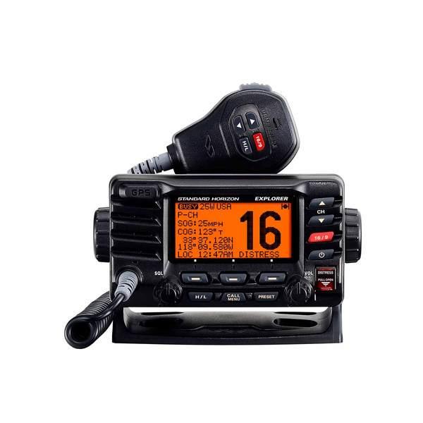 STANDARD HORIZON GX1700 Compact Fixed-Mount VHF Radio with GPS