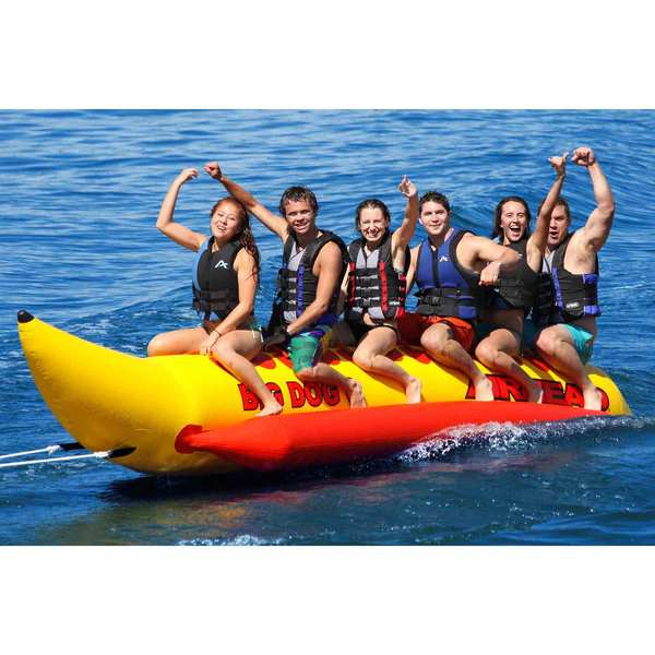 AIRHEAD Big Dog 6-Person Towable Tube West Marine