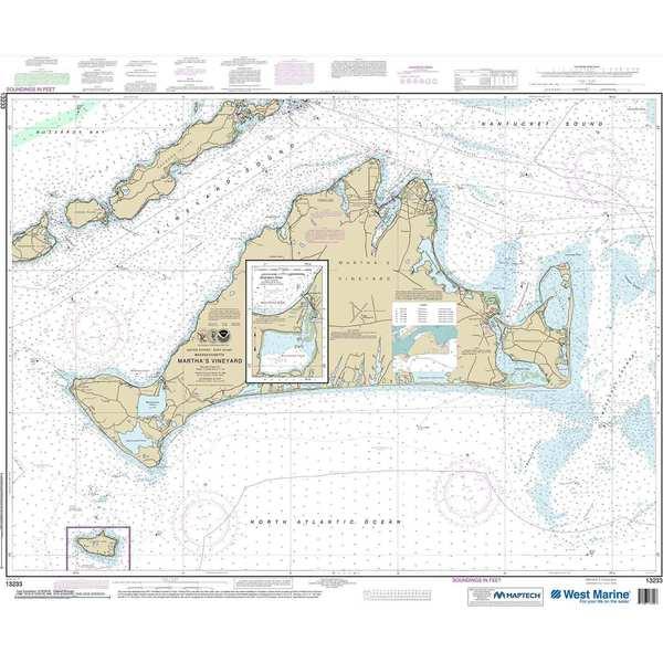 NOAA Maptech® NOAA Recreational Waterproof Chart-Martha\u0027s Vineyard