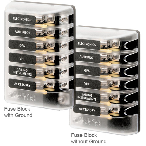 BLUE SEA SYSTEMS AGC Fuse Block Systems West Marine