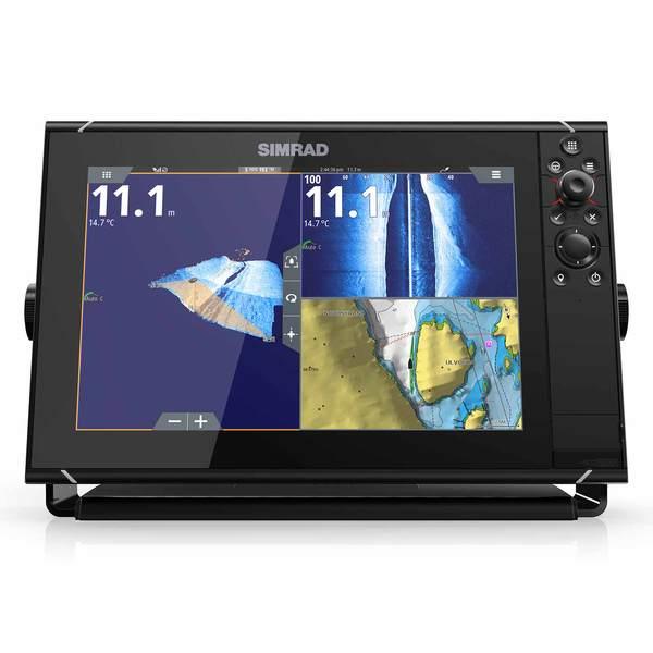 SIMRAD NSS12 evo3 Multifunction Display with Insight USA Lake and