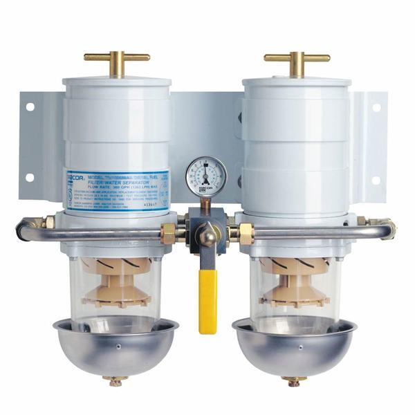 RACOR Marine Duplex 900 Turbine Series Diesel Fuel Filter/Water