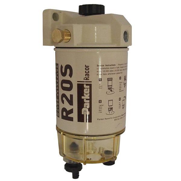 RACOR 230R2 Spin-On Diesel Fuel Filter/Water Separator, 30 GPH