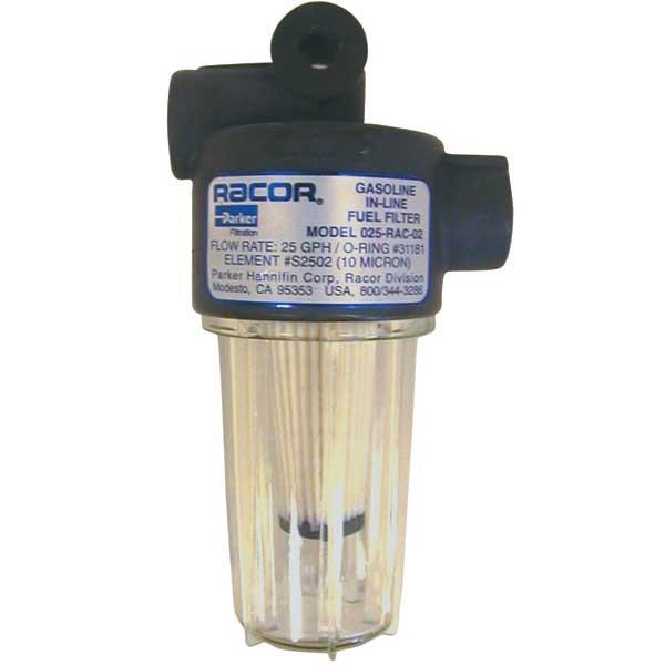 RACOR 025-RAC-02 Fuel Filter/Water Separator, 10 Micron West Marine