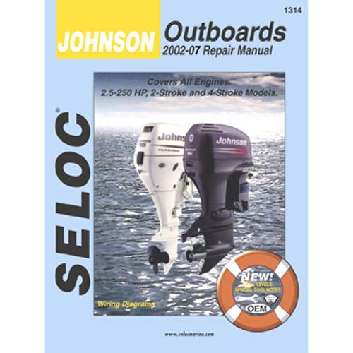 SELOC MARINE Repair Manual - Johnson/Evinrude Outboard 1973-1991, 3