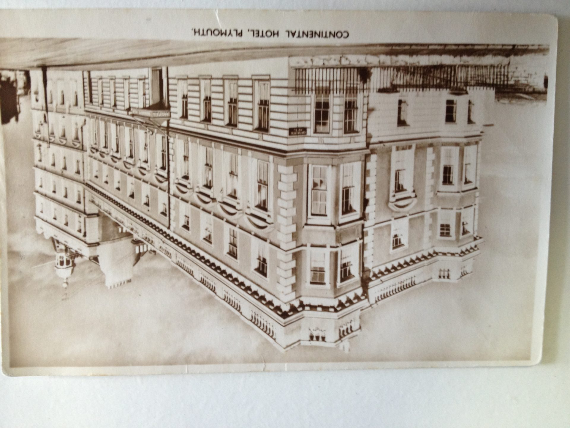 Continental Hotel Our History The New Continental Hotel Plymouth
