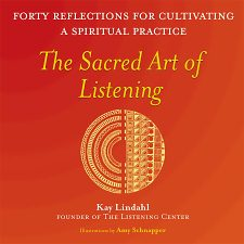 cover image: sacred art of listening book
