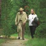 Laurance Rockefeller and Hillary Clinton