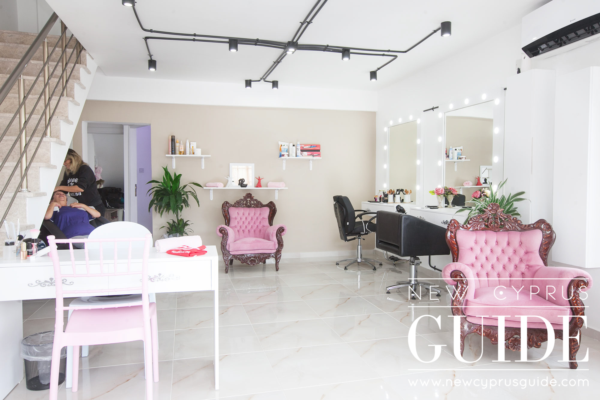 Beauty Salon Black And Pink Luxury Beauty Salon New Cyprus Guide
