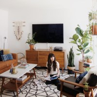 Living Room Makeover with West Elm - New Darlings